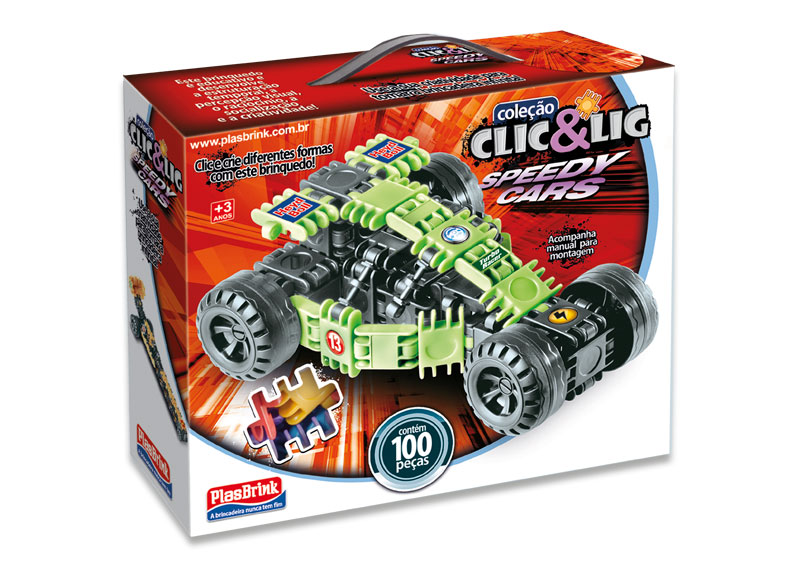 2 CLIC & LIG - Speedy Cars